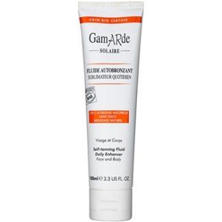 Gamarde Sun Care samoopalovací fluid na tělo a obličej (100% Natural) 100 ml