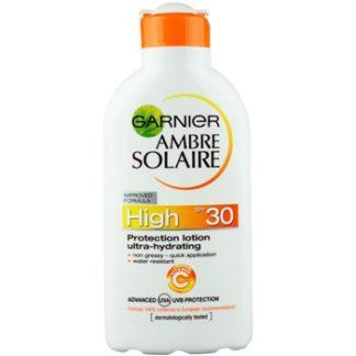 Garnier Ambre Solaire mléko na opalování SPF 30 (Protection Lotion Ultra-hydrating) 200 ml