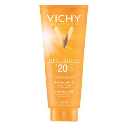 Vichy Hydratační ochranné mléko SPF 20 Idéal Soleil (Hydrating milk) 300 ml