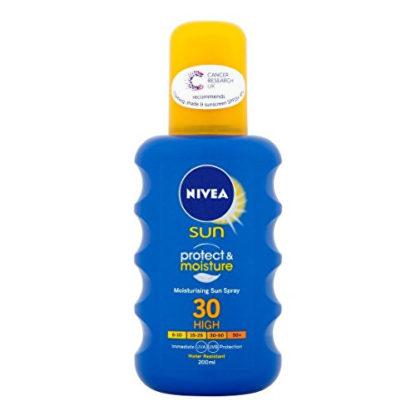 Nivea Hydratační sprej na opalování OF 30 Sun (Protect & Moisture Sun Spray) 200 ml