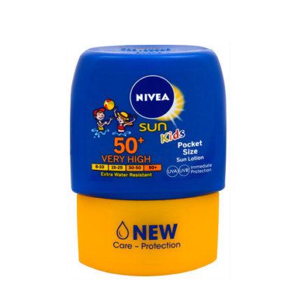 Nivea Kapesní dětské mléko na opalování OF 50 50 ml