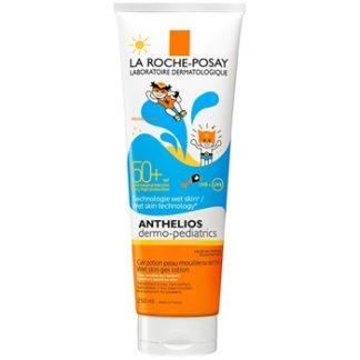 La Roche-Posay Anthelios Dermo-Pediatrics ochranné gelové mléko pro dětskou pokožku SPF 50+ (Wet Skin Technology) 250 ml