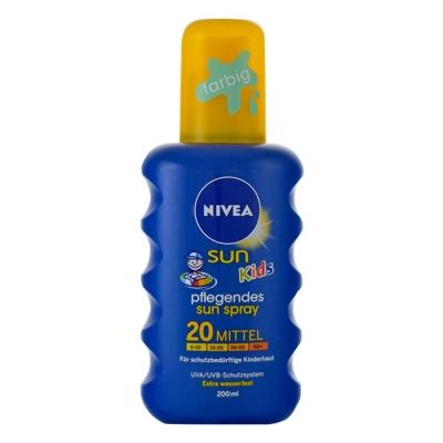 Nivea Sun Kids SPF20 200 ml opalovací přípravek na tělo