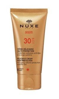 NUXE SUN Delikátní krém na tvář SPF 30 50ml