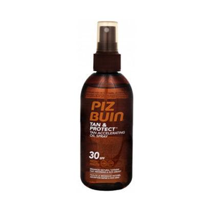 Piz Buin Olej urychlující proces opalování ve spreji SPF 30 Tan & Protect (Accelerating Oil Spray) 150 ml