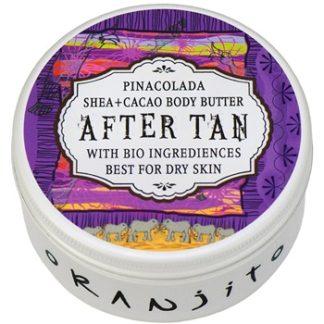 Oranjito After Tan Bio Pinacolada tělové máslo po opalování (Shea + Cacao Body Butter) 100 g