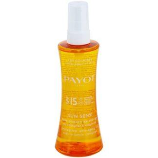 Payot Sun Sensi ochranný sprej SPF 15 (Protective Anti-Ageing Oil) 125 ml