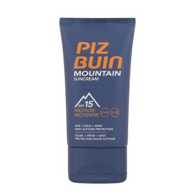 PIZ BUIN Mountain SPF15 40 ml opalovací přípravek na obličej unisex