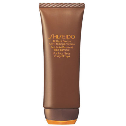 Shiseido Samoopalovací emulze na tělo i tvář (Brilliant Bronze Self-Tanning Emulsion) 100 ml