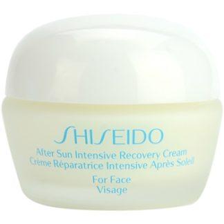 Shiseido Sun After Sun regenerační a hydratační krém na obličej (Intensive Recovery Cream for Face) 40 ml