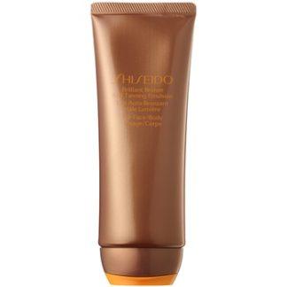 Shiseido Sun Self-Tanning samoopalovací emulze na tělo a obličej 100 ml