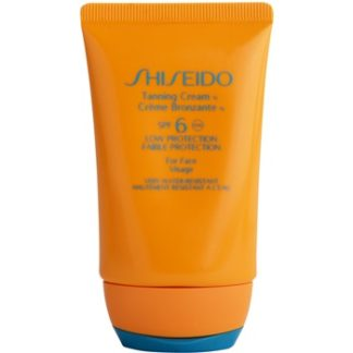 Shiseido Sun Protection opalovací krém na obličej SPF 6 (Tanning Cream for Face) 50 ml