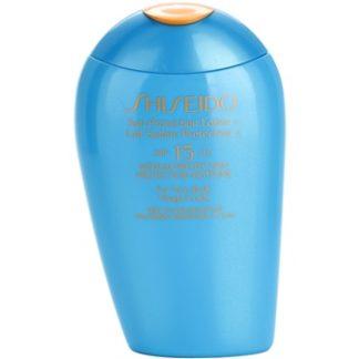 Shiseido Sun Protection opalovací mléko na obličej a tělo SPF 15 (Sun Protection Lotion For Face/Body) 150 ml