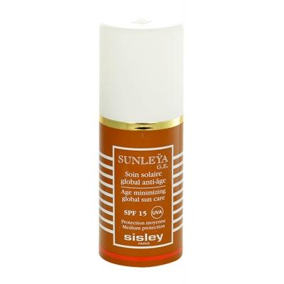 Sisley Sunleya Global Sun Care SPF15 50 ml opalovací přípravek na obličej pro ženy