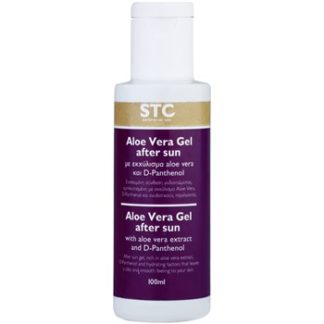 STC Body hydratační gel po opalování (With Aloe Vera Extract and D-Panthenol) 100 ml