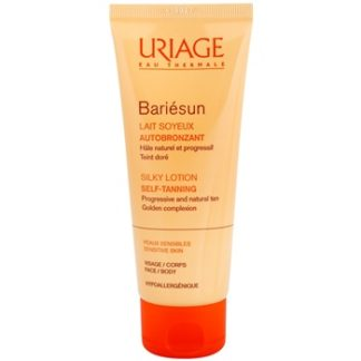 Uriage Bariésun Autobronzant hedvábně jemné samoopalovací mléko na obličej a tělo (Progressive and Natural Tan
