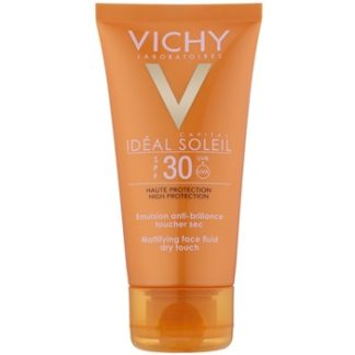 Vichy Capital Soleil opalovací emulze na obličej SPF 30 (Face Emulsion Dry Touch Skin Cell Sun Protection) 50 ml