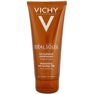 Vichy Idéal Soleil Capital hydratační samoopalovací mléko na obličej a tělo (Easy Strea-Free Application) 100 ml