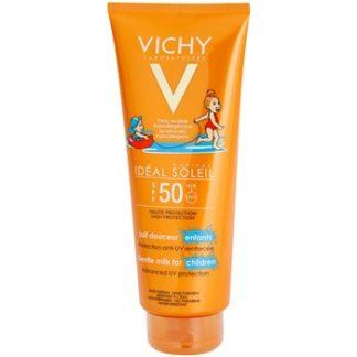 Vichy Idéal Soleil Capital ochranné mléko pro děti na obličej a tělo SPF 50 (Water Resistant