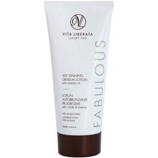 Vita Liberata Fabulous bezbarvý samoopalovací krém pro postupné opálení (With Marula Oil) 200 ml