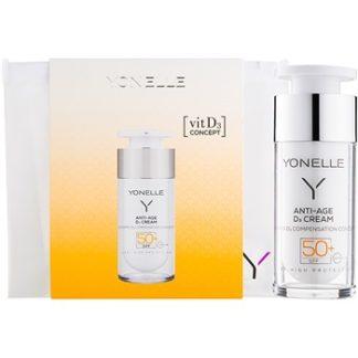 Yonelle Anti - Age D3 ochranný protivráskový krém SPF 50+ (Vitamin D3 Compensation Concept) 30 ml